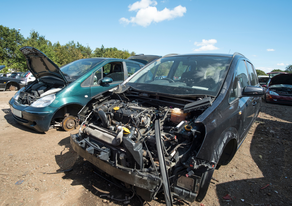 insurance write off and unrecorded salvage vehicles