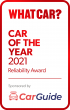Car of The Year 2021 Reliability Award Car Guide